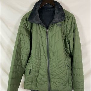 North Face Reversible Puffer Jacket EXCELLENT